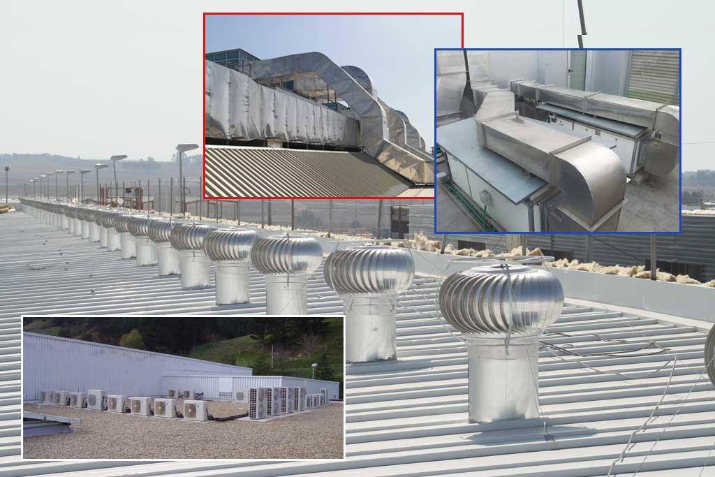 aire acondicionado, climatización y sistemas de ventilación ecológicos