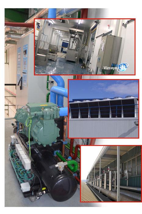 ahorro energético, ecoeficiencia, tecnología superinverter en frio industrial