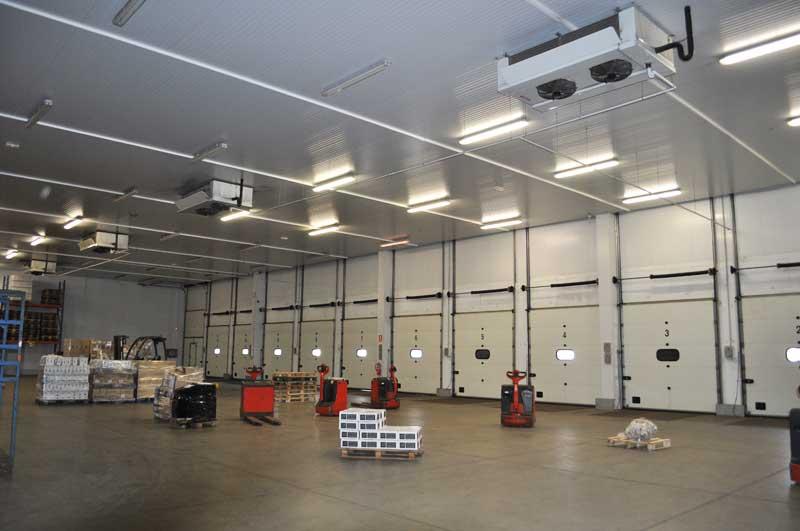 muelles de carga refrigerados y cámaras de frio